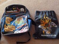 Scooby Doo School Bag and Gym Bag