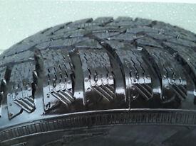 "Winter tyres part worn 16"" x 4"