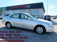 2004 Toyota Camry LE V6 LEATHER Certified 2 Year Warranty
