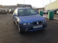 ROVER STREETWISE 2.0TD SE 3dr [101PS] (blue) 2003