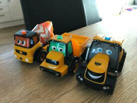 Tractor, Tipper and Cement Mixer Toys