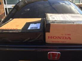Honda genuine clutch & dual mask flywheel