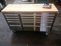 Stainless steel rollcab toolbox