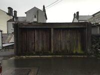 Storage Double garage plus office/store to rent in Tavistock
