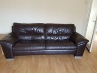 FREE - Brown leather suite