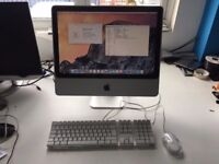 iMac 20inch Early 2008 4Gb RAM 250Gb HDD 2.4ghz Yosemite