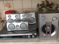 Philips mx3800d dvd surround sound