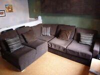 Large Corner Sofa Bed with Storage