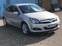 2007 Vauxhall ASTRA Coupe 1.6 sxi , mot-August 2018 , full service history ,focus,megane,civic,golf
