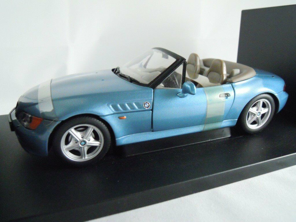 Bmw Z3 Roadster James Bond Goldeneye 1 18 Scale Diecast