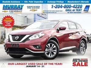2015 Nissan Murano AWD 4dr SL *Bluetooth, Heated Mirrors*