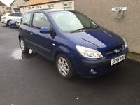 2006 56 HYUNDAI GETZ ATLANTIC 1 YEARS MOT FULL DEALER SERVICE HISTORY PX WELCOME £675