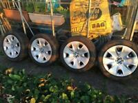 4 bmw 1 série winter tyres and wheels