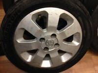 Vauxhall corsa alloy wheel