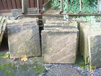 Concrete Paving Slabs: 44cm x 44cm