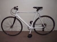 """Lightweight Aluminium CXCXC Certified Curb Crusher 22"""" Hybrid/Commuter Bike"""