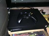Xbox One X (1 month old with warranty receipt)