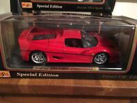Maisto Special Edition Toy Cars 1:18 scale