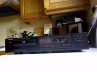 Rotel compact disc player separates