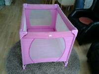 Child's Travel Cot for Sale