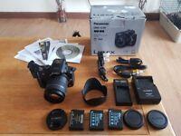 Panasonic-LUMIX-DMC-GK3 16.0MP Digital Camera and Lens Very Low Shutter Count