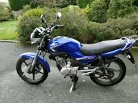 Yamaha YBR 125 2009 Motorbike