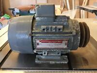 .75kw electric motor 1Hp 3 phase