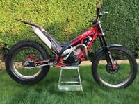 Trials bike Gas Gas 250cc not sherco vertigo beta