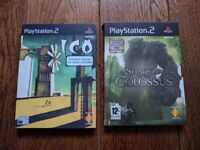 Playstation (PS2) Game Bundle - ICO + SHADOW OF THE COLOSSUS