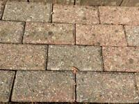 Patio paving driveway bricks. 34 available