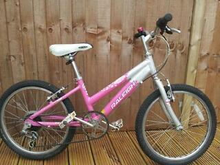 "20"" wheel bikes for 7-10 year old x2"