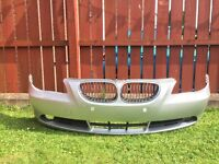 BMW 5-Series front and rear bumpers e60