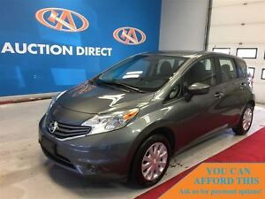 2016 Nissan Versa Note SV, BLUETOOTH, SAT RADIO, FINANCE NOW!