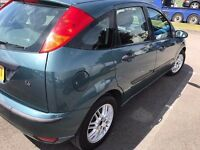 Ford Focus Ghia 1.4 5drs 12 months mot £599