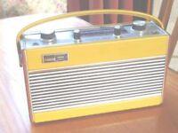 Roberts Radio Ric2 portable radio in Mustard colour.