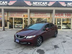 2013 Honda Civic TOURING AUT0 NAVI LEATHER SUNROOF 109K