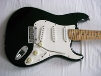 Fender American Standard Stratocaster electric guitar - USA - '97/'98 - Blackie style