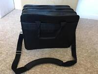 Leather laptop bag Compaq