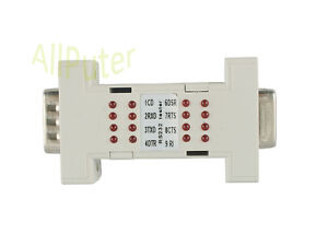 RS232 Tester Adapter Converter 9 Pin 9P DB9 Connector CNC Port LED