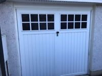 Cardale Bedford Single Canopy Garage Door and Frame
