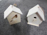 2 x new Bird Nesting Boxes