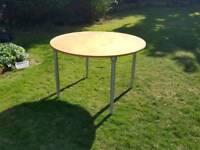 Ikea round table- Prioritet design