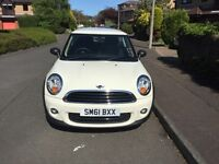 PRICE DROP! EXCELLENT CONDITION 6658 MILES! Mini First 1.6 2011 White, manual hatchback