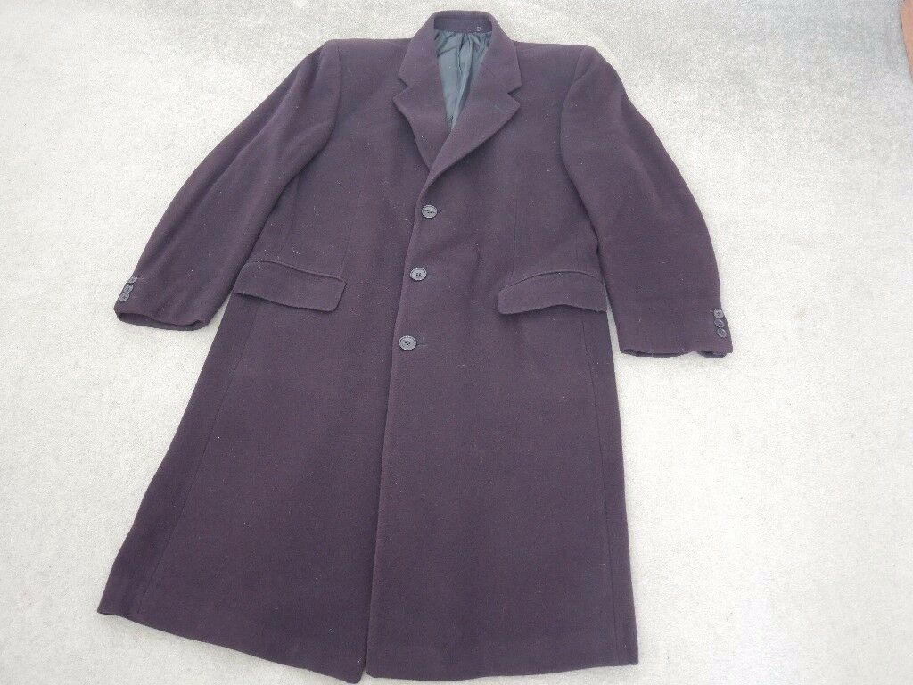 OVERCOAT 4OR EXCELLENT QUALITY WINTER BUSINESS CASUAL USE