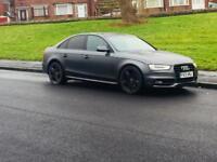 Audi A4 2.0 TDI S LINE 2013 AUTOMATIC 46k Miles not 320d a6 a5 a7 x5 q7 520d golf gti gtd Leon