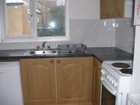 Small clean furnished single bedsitter with built-in kitchen in Golders Green