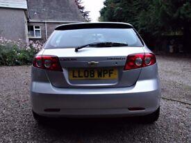 2008 Chevrolet Lacetti Sx **LONG MOT**