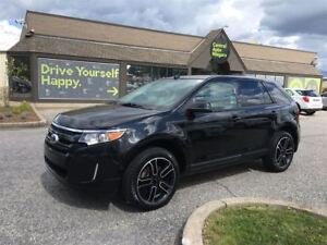 2014 Ford Edge SEL/ awd/ sport pkg / navi / sunroof / leather