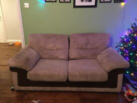 Sofa bed and storage footstool