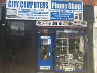 Laptop & PC repairs BIRMINGHAM B12 ON SITE REPAIRS